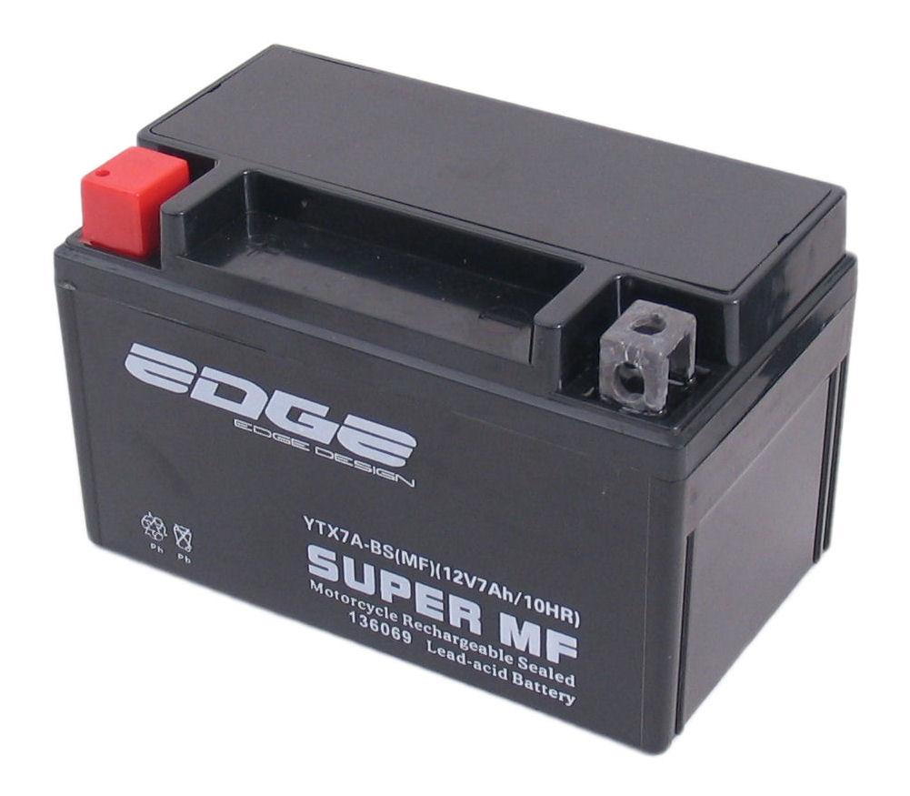 Accu Edge YTX-7-ABS gelvulling