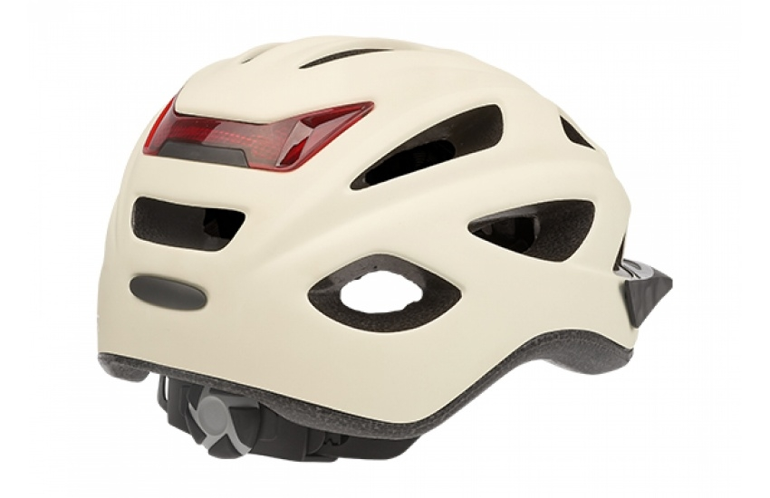 Fietshelm City'Go - Mat Creme - Medium (52-59cm)