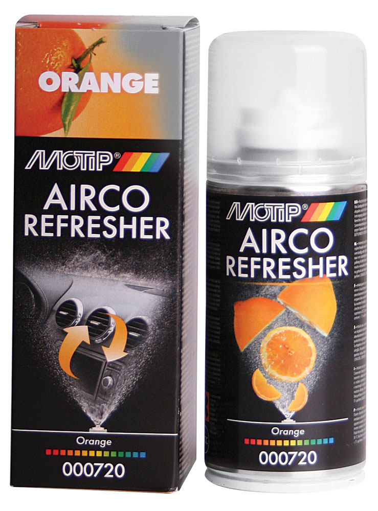 Airco Refresher MOTIP 150ml Orange