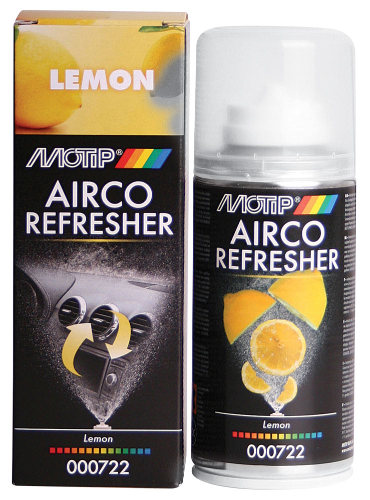 Airco Refresher MOTIP 150ml Lemon
