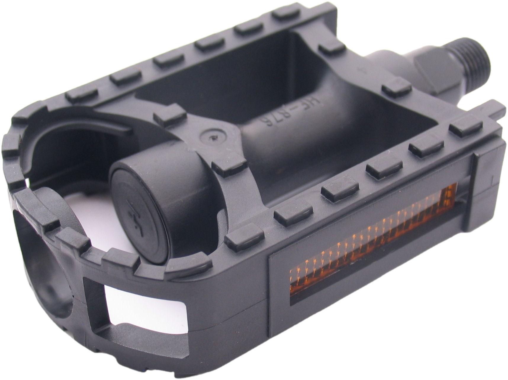 Fietspedalen Edge MTB Eco kunststof - zwart
