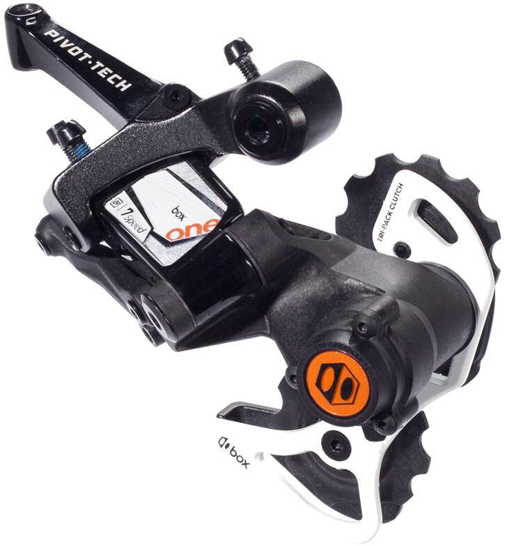 Downhill achterderailleur One 7 speed - korte kooi