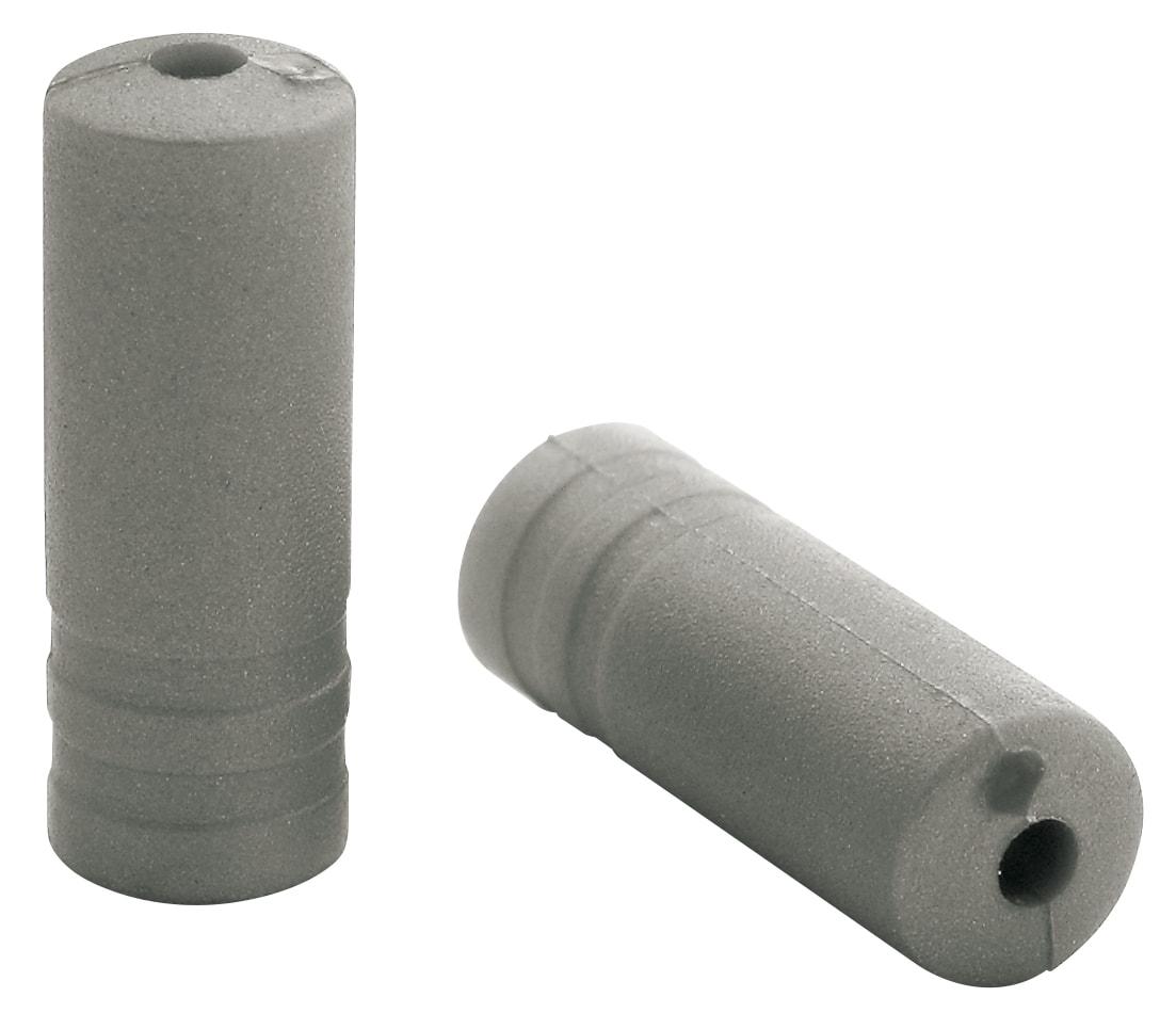 Ferrules Elvedes Ø4,3mm PVC - zilver (150 stuks)