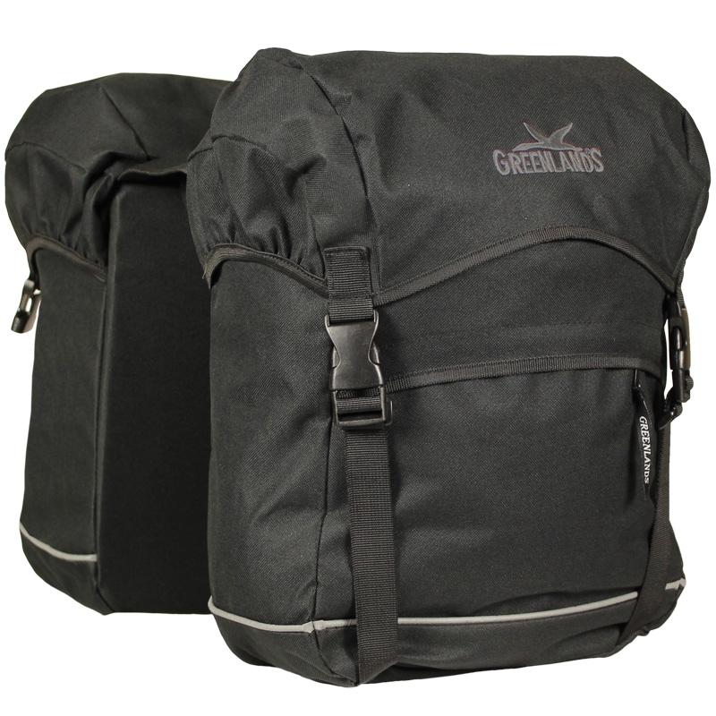 Dubbele tas Greenlands Travel Bag - Zwart