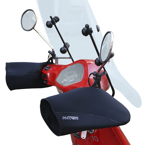 Handmoffen scooter DS Covers  Zwart