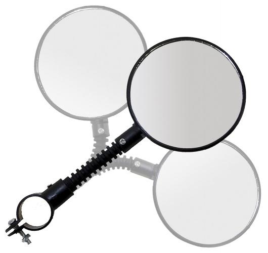Fietsspiegel 3D-verstelbaar Ø 84 mm met klem