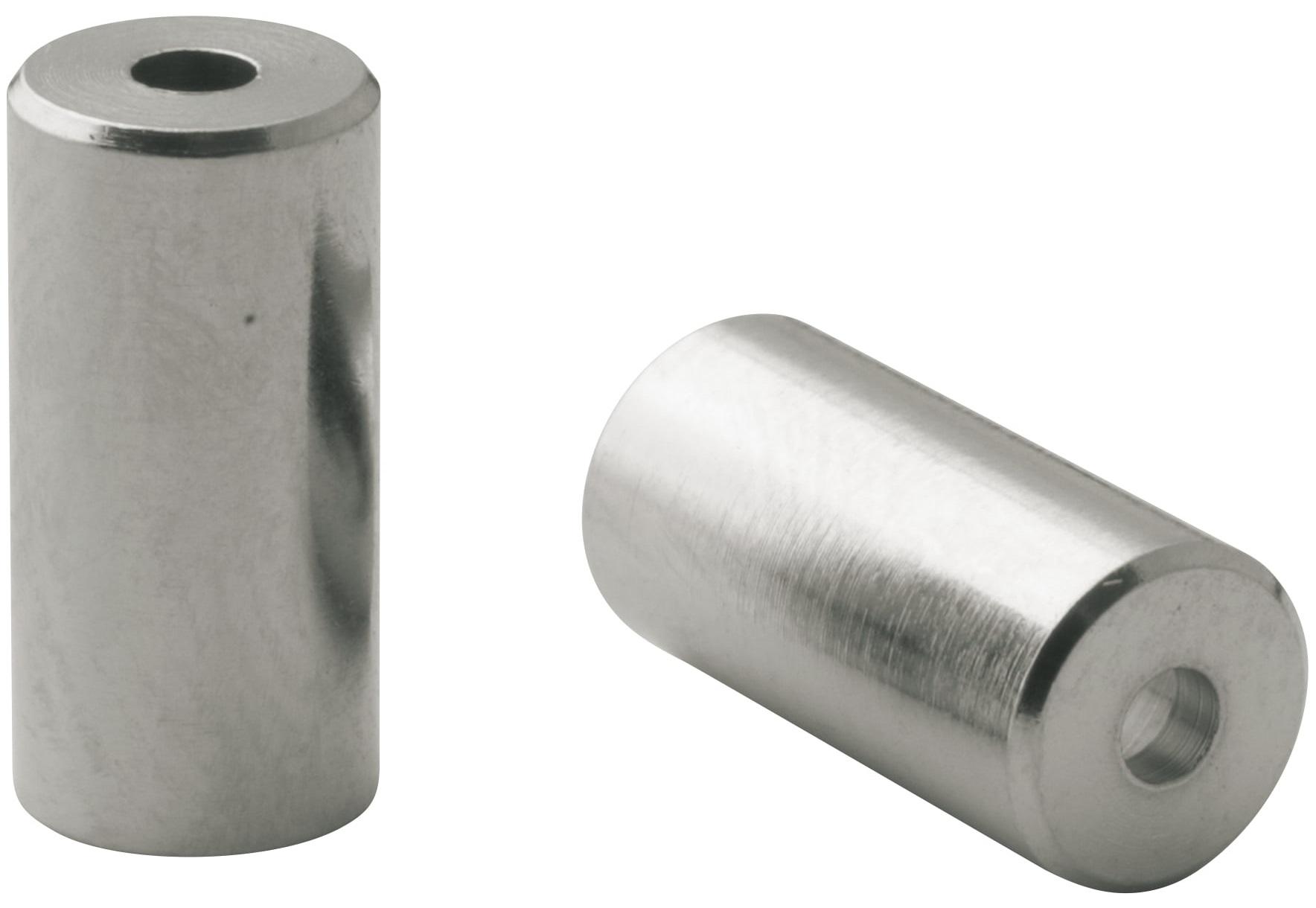 Ferrules Elvedes Ø5,0mm messing CNC (200 stuks)
