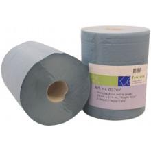 Poetspapier werkplaatsrol 26cm x 190m - zwaar 2 laags papier (2 rollen)