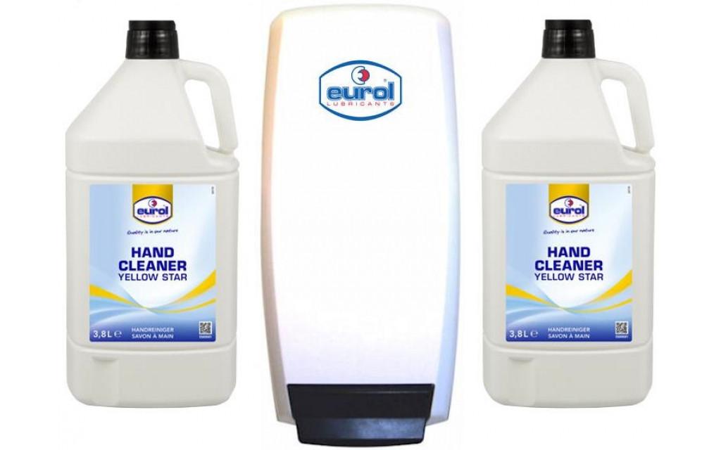 Handcleaner Eurol Starterpack inclusief dispenser