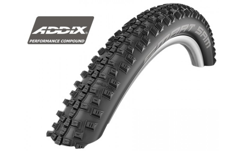 "Buitenband Schwalbe Smart Sam Performance 29x2.10"" / 54-622 mm - zwart"