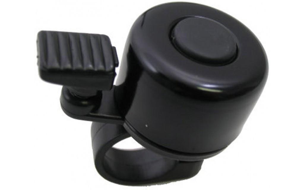 Fietsbel Edge mini 35 mm - zwart  (werkplaatsverpakking)