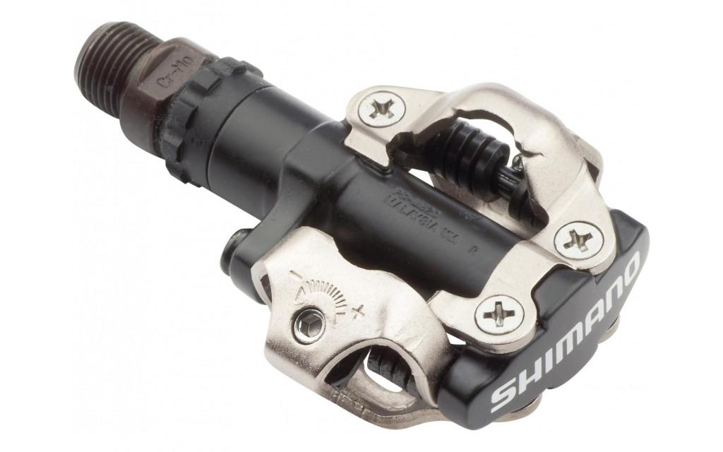 Pedaalset Shimano SPD M520 Met Plaatjes SM-SH51 - zwart
