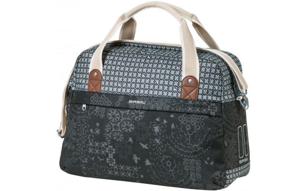 Fietstas Basil Bohème Carry All Bag 18 liter 44 x 17 x 31 cm - zwart