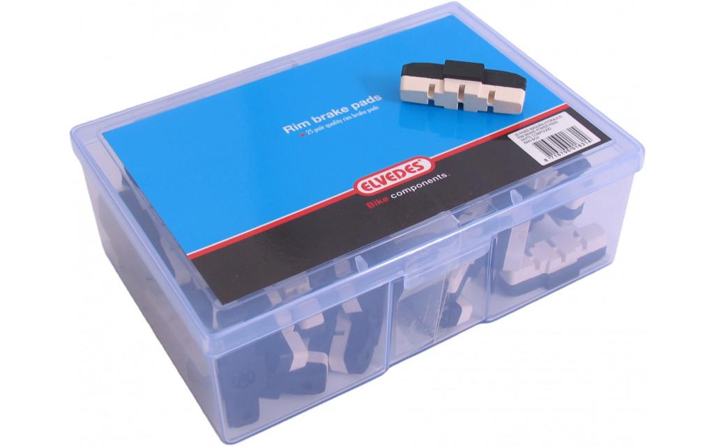 Rembloksets Elvedes power pads Magura HS11 / HS33 - witte compound (25 paar)