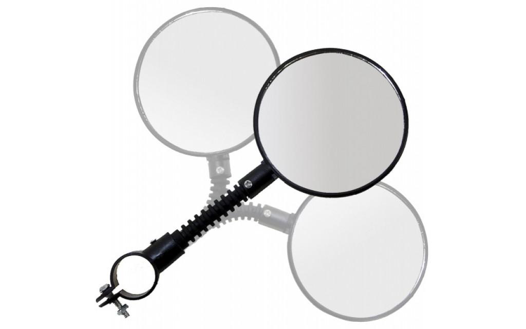 Fietsspiegel M-Wave 3D-verstelbaar Ø 84 mm met klem