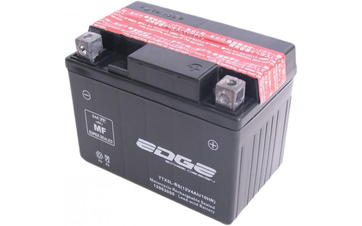 Accu Edge YTX5-LBS met zuurpakket (11 x 7 x 8.5 cm)