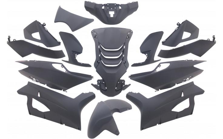 Plaatset Peugeot Speedfight 4 14 delig mat zwart