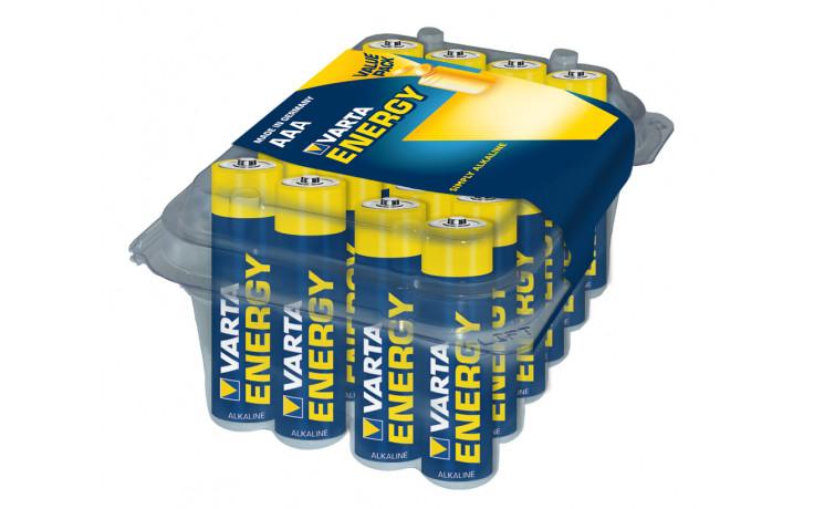 Batterij VARTA Energy Alkaline AAA/LR03  (Box = 24stuks)