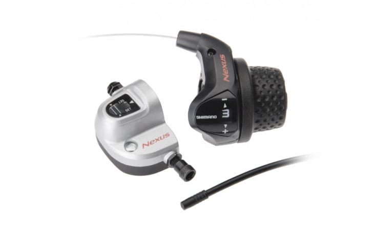 Revo Shifter Shimano Nexus SL-3S41E 3-Speed met kabels en clickbox - zwart