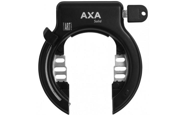 Ringslot Axa Solid - zwart (werkplaatsverpakking)