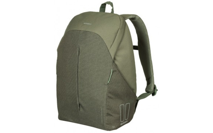 Fietsrugzak voor 15,6 inch laptop Basil B-Safe Commuter 18 liter 29 x 14 x 45 cm - olive groen