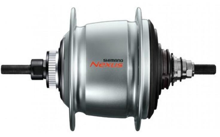 Versnellingsnaaf Shimano Nexus 8 SG-C6001 voor schijfrem - 36 gaats - zilver