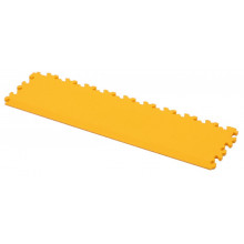 Vloertegeldrempel Cyclus 50x13x0.7 cm PVC koppelbaar - geel