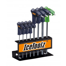 Twinhead Wrench Set IceToolz 7M85  2-2,5-3-4-5-6-8mm T25