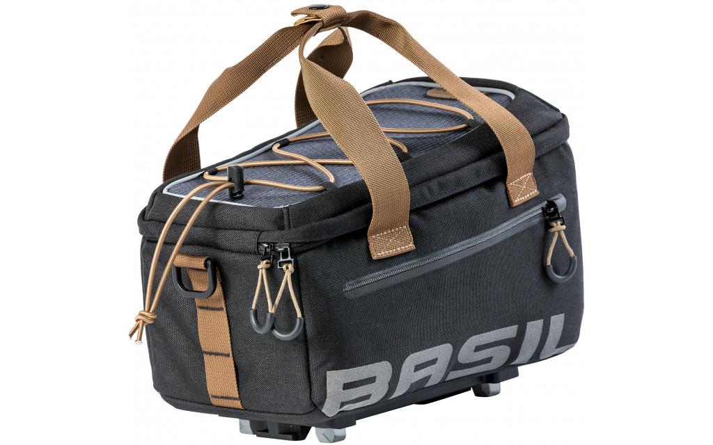 Sacoche vélo pour porte-bagage arrière Basil Miles MIK Trunkbag 7 litres 31 x 20 x 23 cm - black slate