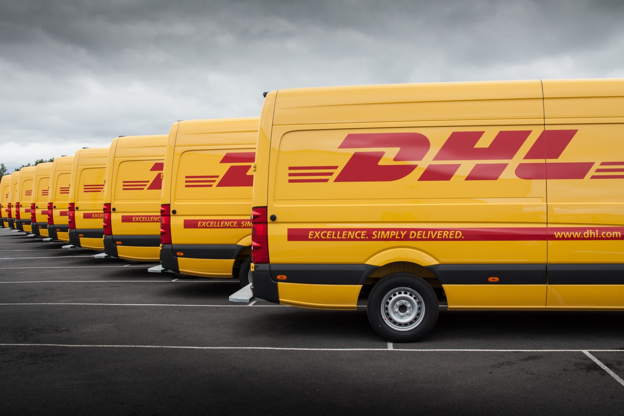 Transport met DHL
